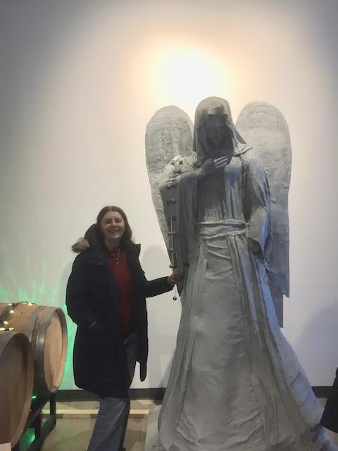 stone angel statue stone angel brewery