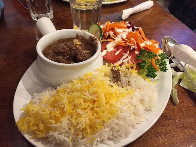 walnut stew iranian restaurant