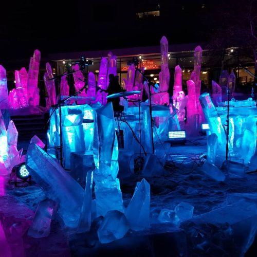 les brandt set for glacial show