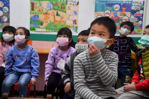 school children in taiwan channel news asia photo