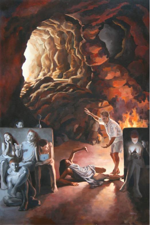 Plato's Cave by Lalita Hamill
