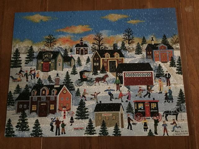 grandma moses puzzle
