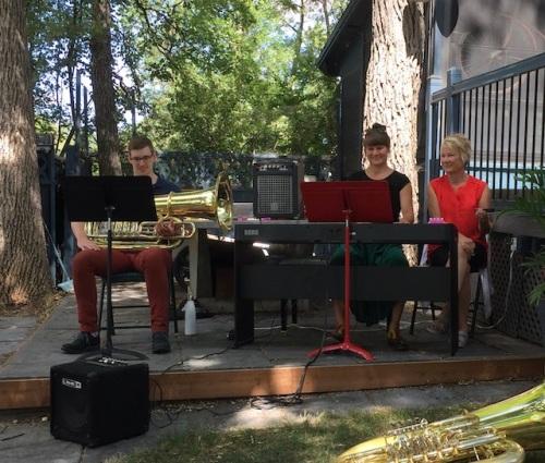 tuba piano performance