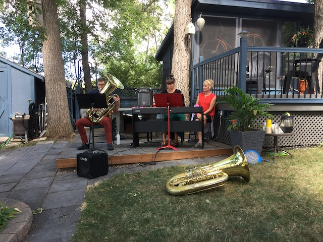tuba piano show